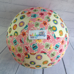 Balloon Ball: Pink Monsters with Spots